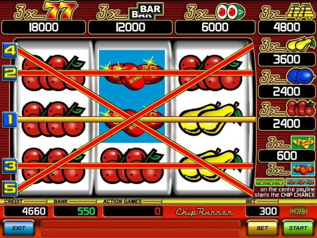 Chip runner slot game free